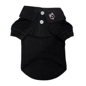 Dog Polo Shirt black size 2xLarge