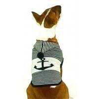 Naughty Nautical Cardigan size XLarge size cocker