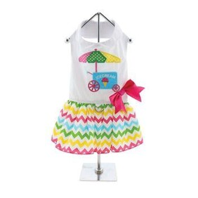 The New Ice Cream Cart Dress is fun and whimsical Size Medium