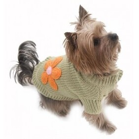 Flower power dog pullover size large Breed Guidelines: Miniature